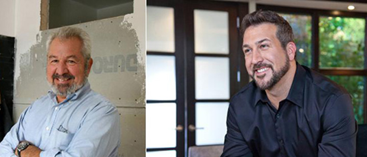 Bob Vila and Joey Fatone